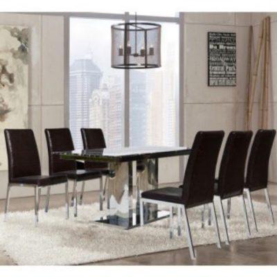 Bộ bàn ăn hiện đại B61, G61
