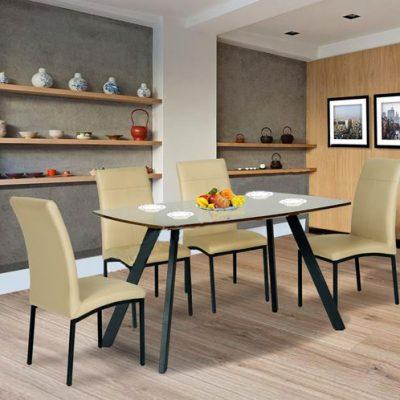 Bộ bàn ăn gia đình B50, G50