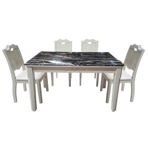 Bộ bàn ghế ăn cao cấp HGB66B, HGG66