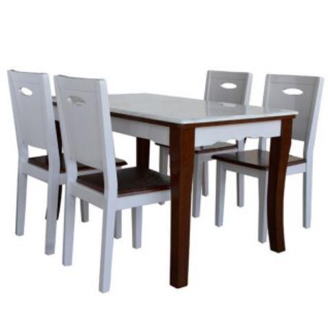 Bộ bàn ghế phòng ăn HGB75B, HGG75
