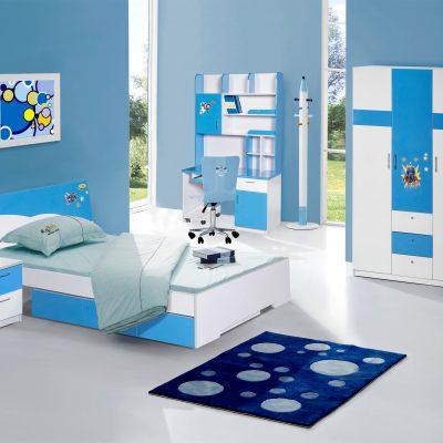 Bộ giường tủ phòng ngủ bé trai GNE01