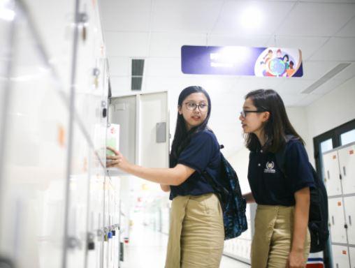 Tủ locker Hòa Phát cho không gian trường học