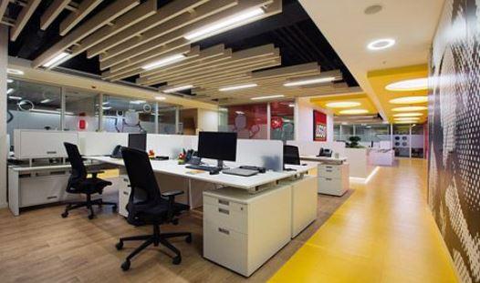 Văn phòng truyền thống với những gam màu nỗi cho không gian riêng biệt