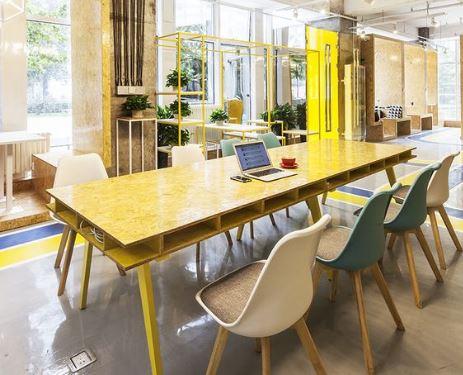 Độc đáo với phong cách vintage phối màu Nội thất văn phòng hiện đại