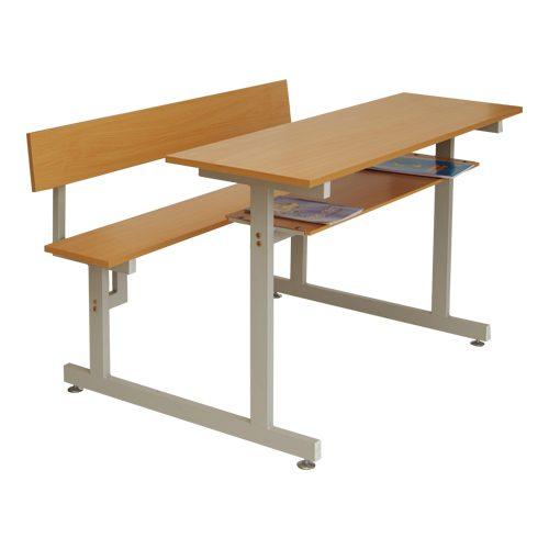 Bàn học tựa lưng gỗ BSV105TG