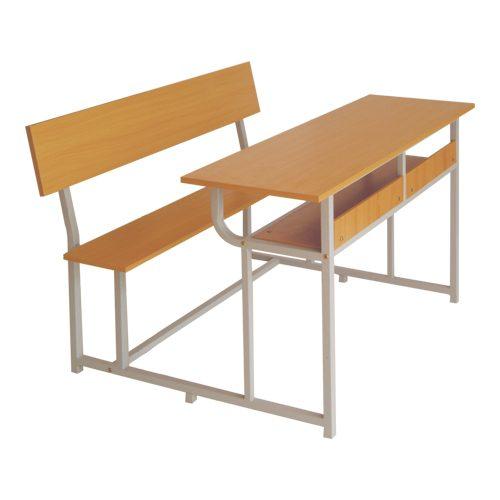 Bàn học gỗ tự nhiên có tựa BSV107TG