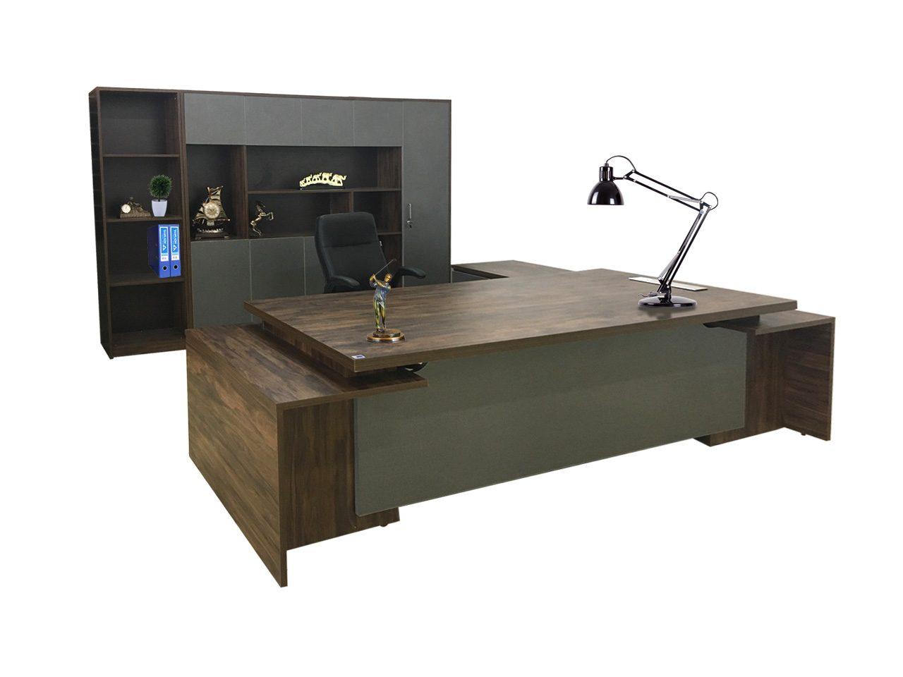 Tủ LUXB3020V2 kết hợp với bàn LUXB3020V2