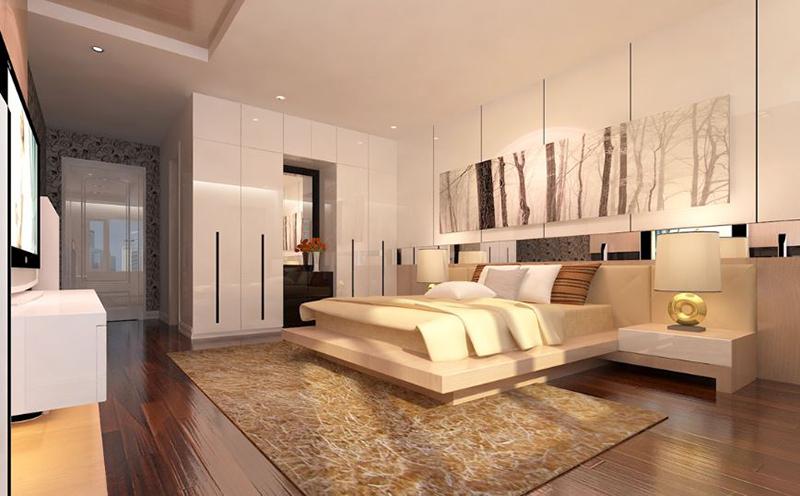 cách bày trí phòng ngủ đẹp hợp phong thủy