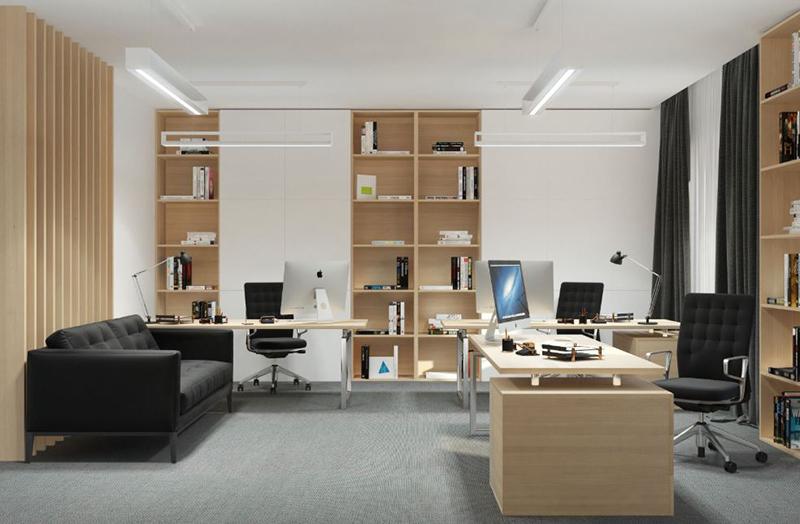 cách sắp xếp văn phòng làm việc nhỏ