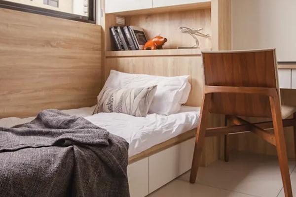 thiết kế phòng ngủ nhỏ 7m2