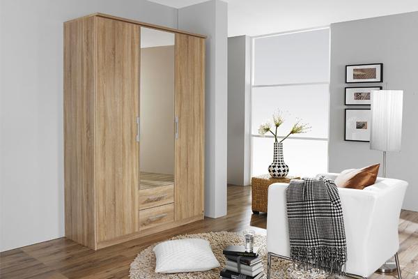 tủ quần áo gỗ công nghiệp 3 buồng