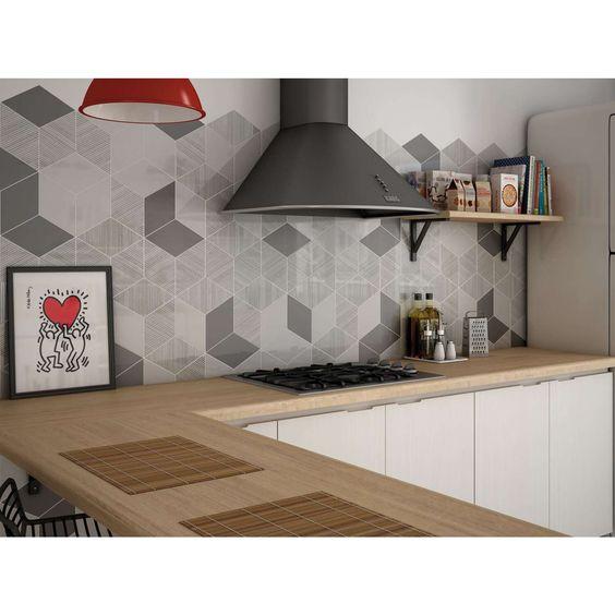 Gạch ốp tường nhà bếp