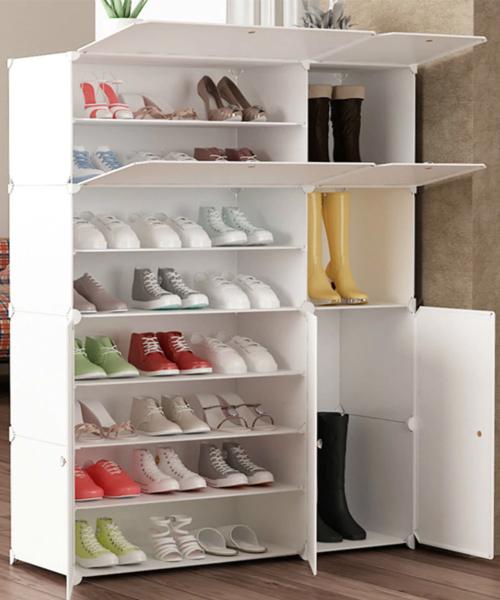 tủ giày thông minh bằng nhựa