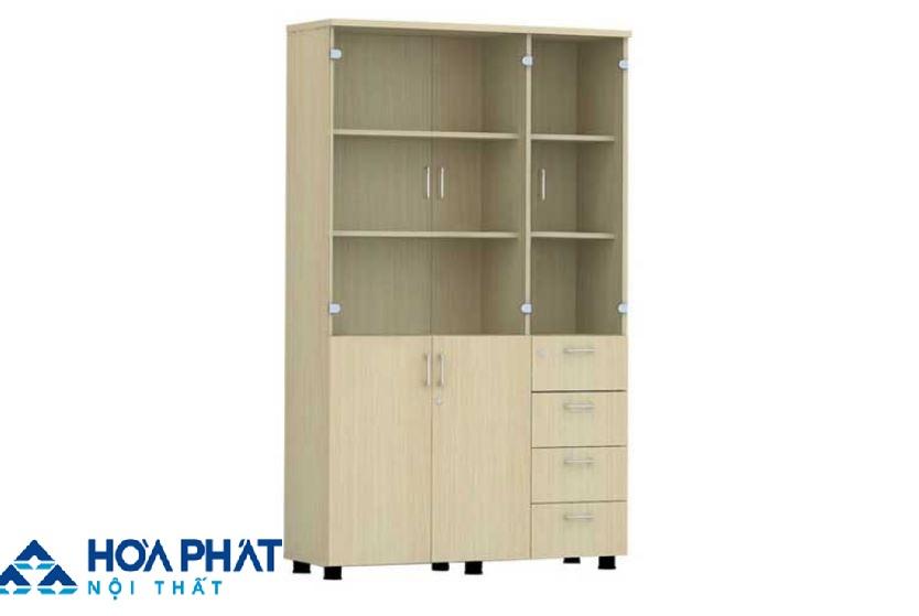 Mẫu tủ hồ sơ gỗ AT1960 - 3G4D
