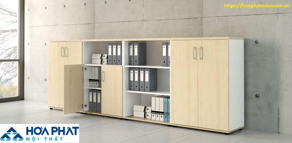 tủ gỗ đựng tài liệu nhiều ngăn