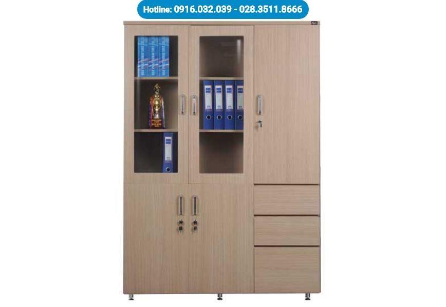 Tủ đựng hồ sơ gỗ HR1960-3B