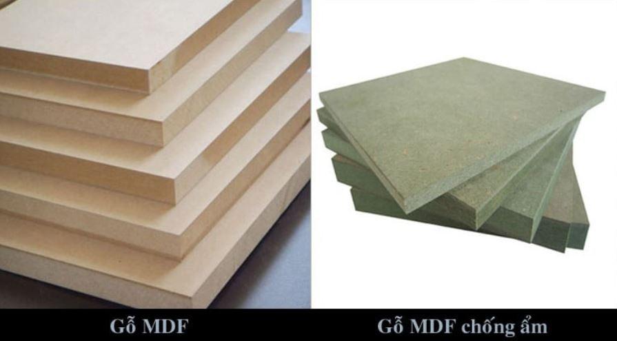 Gỗ MFC và MDF cũng có những điểm khác biệt