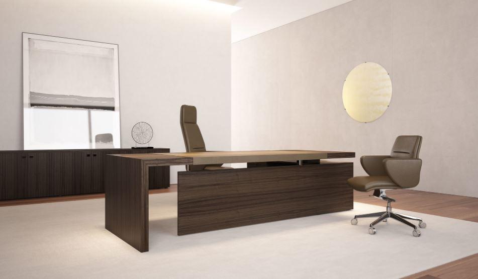 Một chiếc bàn tốt sẻ giúp người trưởng phòng tự tin hơn trong công việc