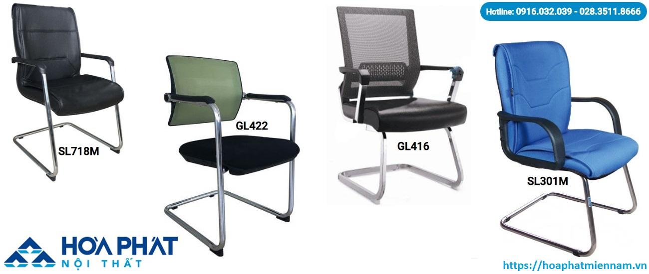 Dòng ghế chân quỳ Hòa Phát cũng là sự lựa chọn tuyệt vời cho phòng làm việc và phòng họp