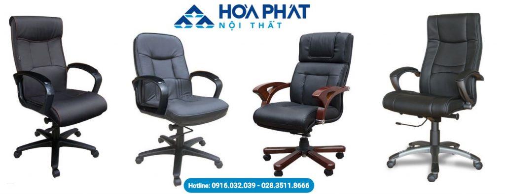 ghế da Hòa Phát