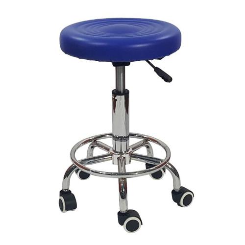 ghế xoay inox đệm tròn