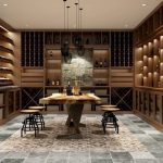 Mẫu tủ rượu gỗ đẹp 2019 – Tủ rượu gỗ Sồi đẳng cấp của ngôi nhà đẹp