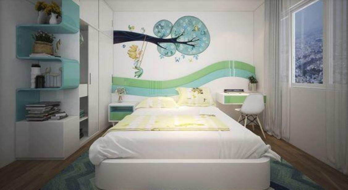 Thiết kế phòng ngủ đẹp theo phong cách hiện đại
