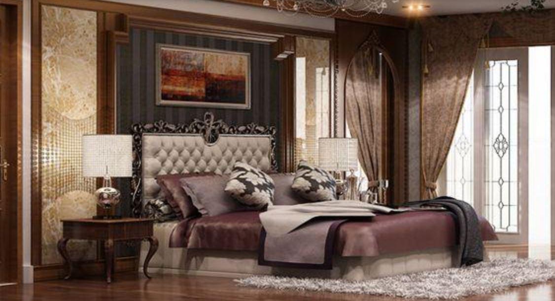 Thiết kế phòng ngủ phong cách tân cổ điển đẹp mắt