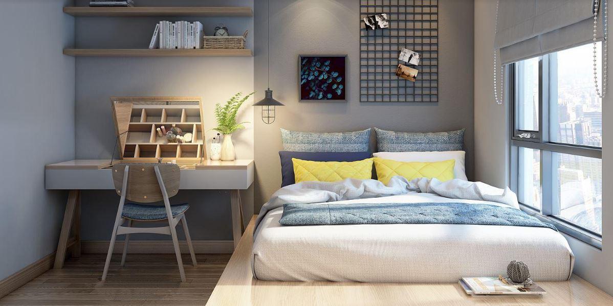 thiết kế phòng ngủ đẹp đơn giản nhưng lại rất tinh tế
