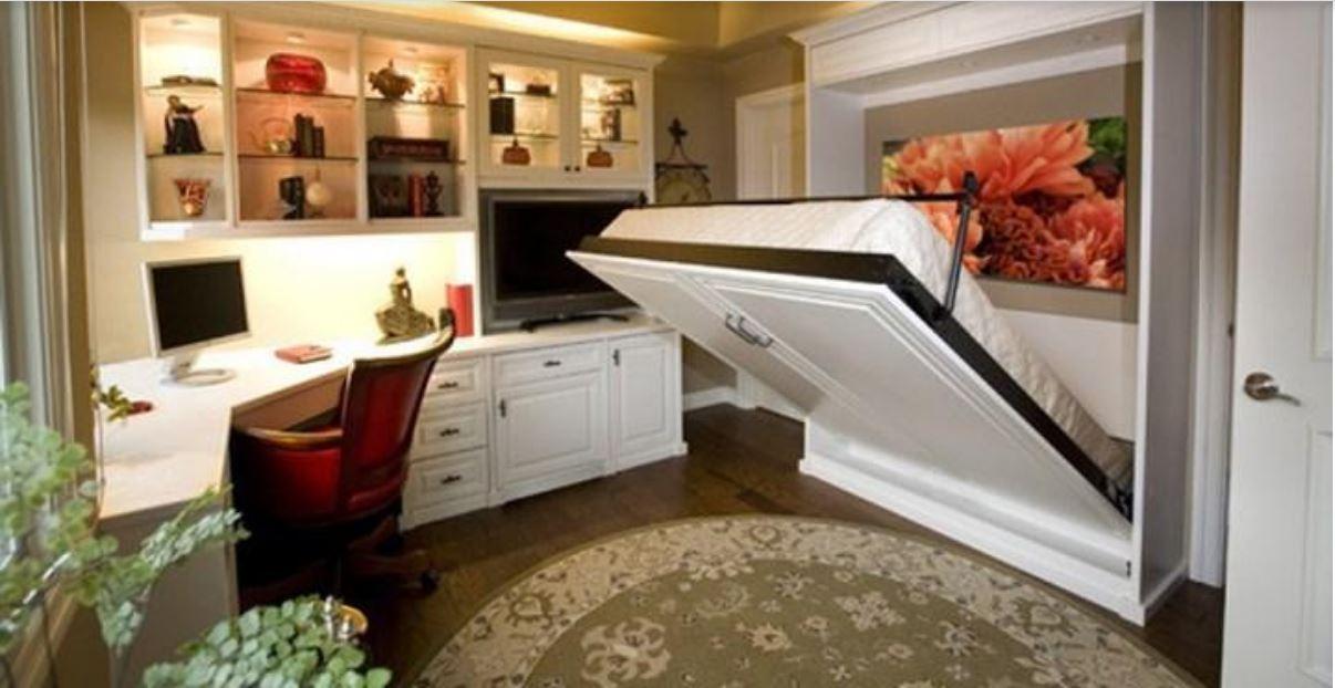Ấn tượng với phòng ngủ thông minh, tiện dụng