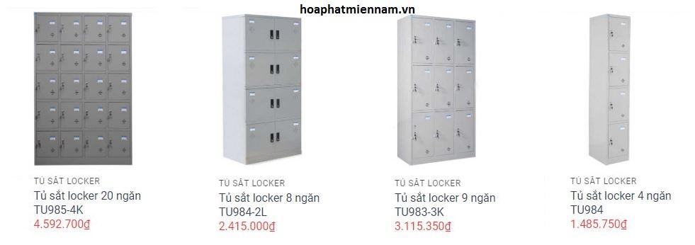 Giá tủ đựng trang thiết bị Hòa Phát