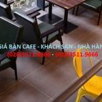 Bảng báo giá bàn ghế Cafe Hòa Phát 2020