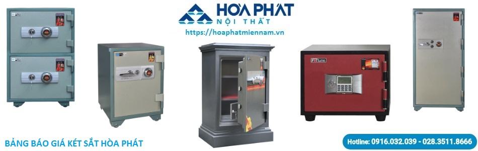 báo giá két sắt Hòa Phát
