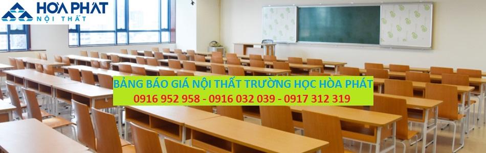 BANG BAO GIA NOI THAT TRUONG HOC HOA PHAT