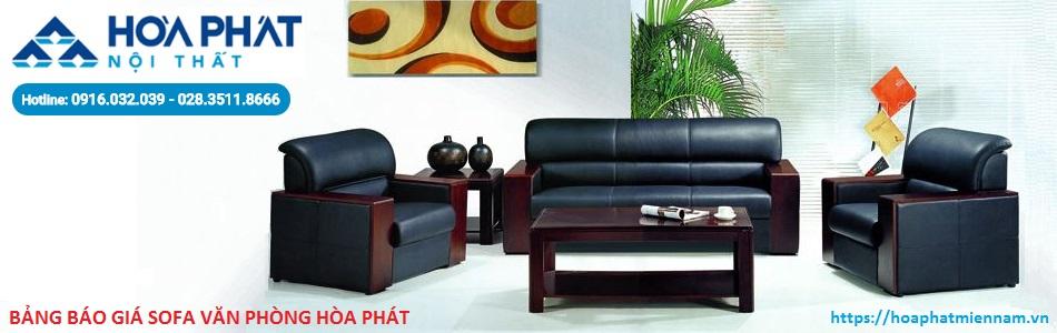 báo giá Sofa văn phòng Hòa Phát