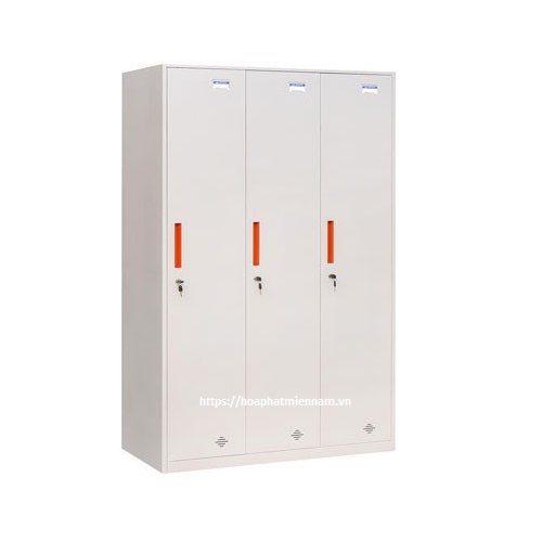 Tủ sắt Locker 3 ngăn TU981-3KD
