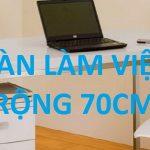 Bàn làm việc rộng 70cm Hòa Phát mới nhất 2020