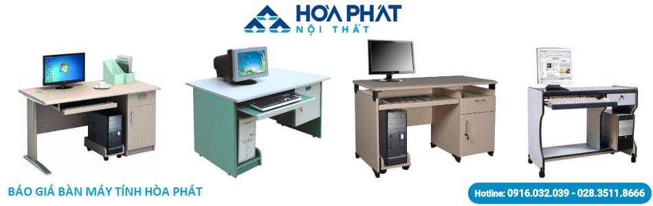 Báo giá bàn máy tính Hòa Phát