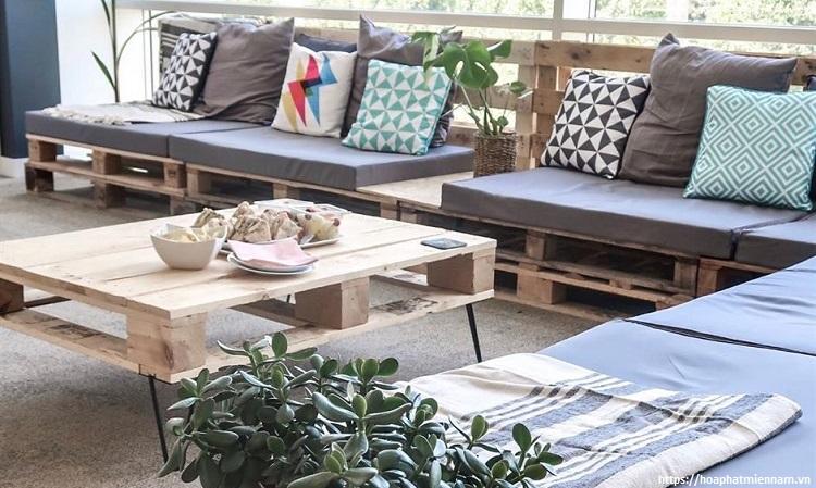 Bộ sofa dành cho ban công - ngoài trời đẹp hút mắt