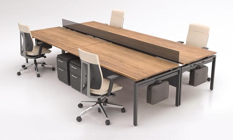 Mẫu bàn Module đơn giản nhưng vẫn toát lên sự hiện đại, sang trọng