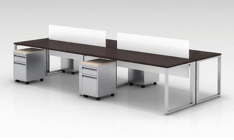 Chiếc bàn module Hòa Phát với thiết kế phổ biến được nhiều người yêu thích