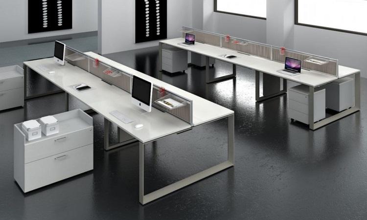 Bạn có thể chọn một mẫu bàn module theo thiết kế và diện tích văn phòng của mình