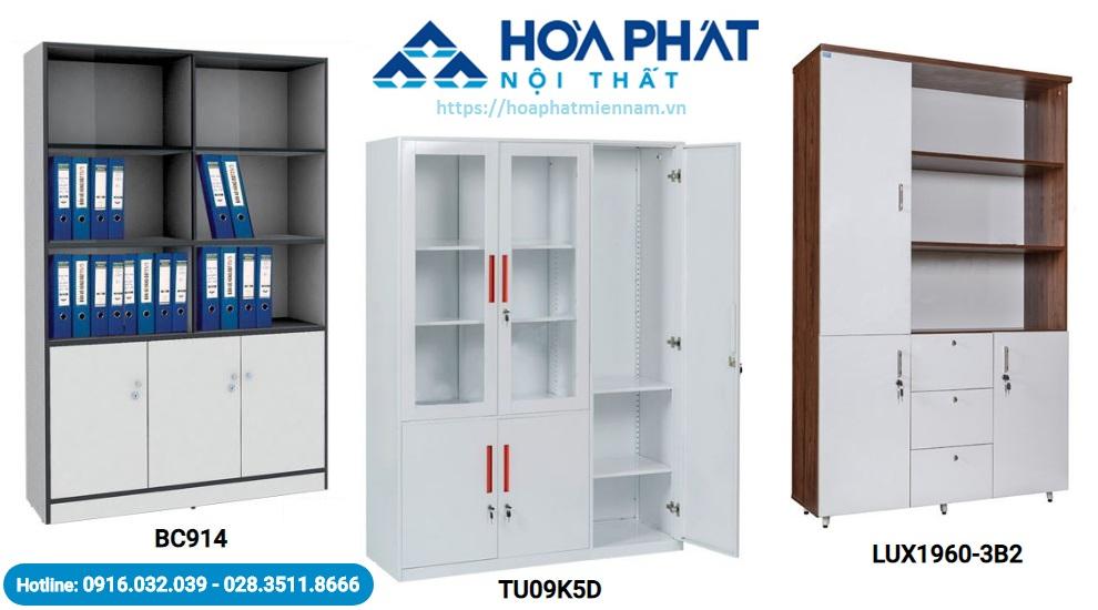 Hòa Phát có nhiều mẫu tủ với kích thước khác nhau phù hợp với nhu cầu của người sử dụng