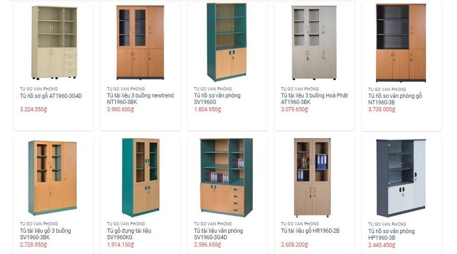 Xem giá, nhận tư vấn miễn phí các dòng tủ văn phòng Hòa Phát tại Đà Nẵng