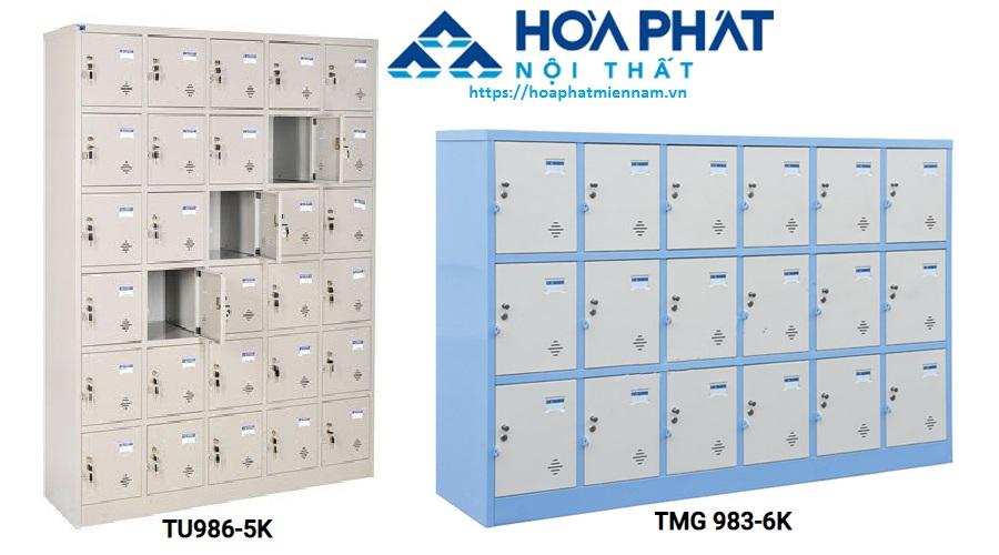Hai mẫu tủ locker Hòa Phát mới ra mắt được nhiều khách hàng yêu thích