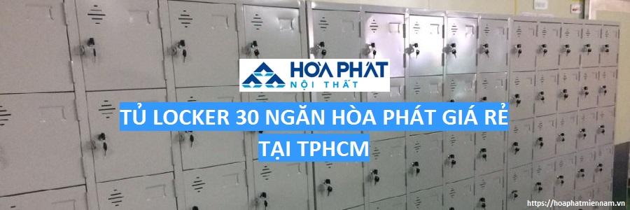 Tủ locker 30 ngăn hoa phat tai tphcm