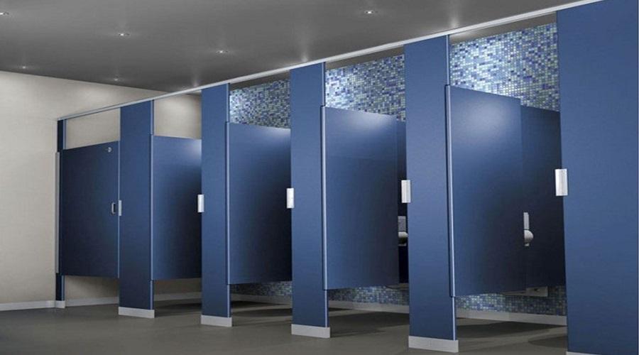 Mẫu vách ngăn nhà vệ sinh giá rẻ Hòa Phát