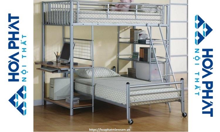 Mẫu giường đôi tiện dụng