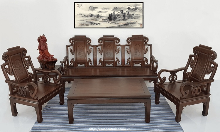 Nét xưa trong thiết kế bàn ghế kiểu Trung Quốc