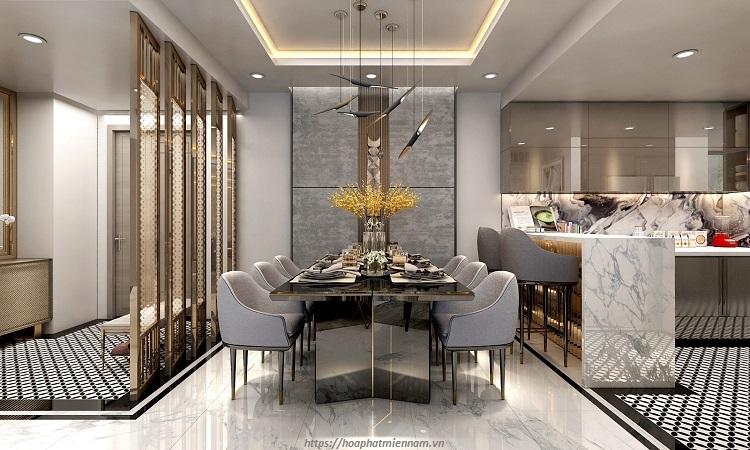 Vách ngăn phong khách đóng vai trò quan trọng trong việc làm đẹp cho không gian nhà ở